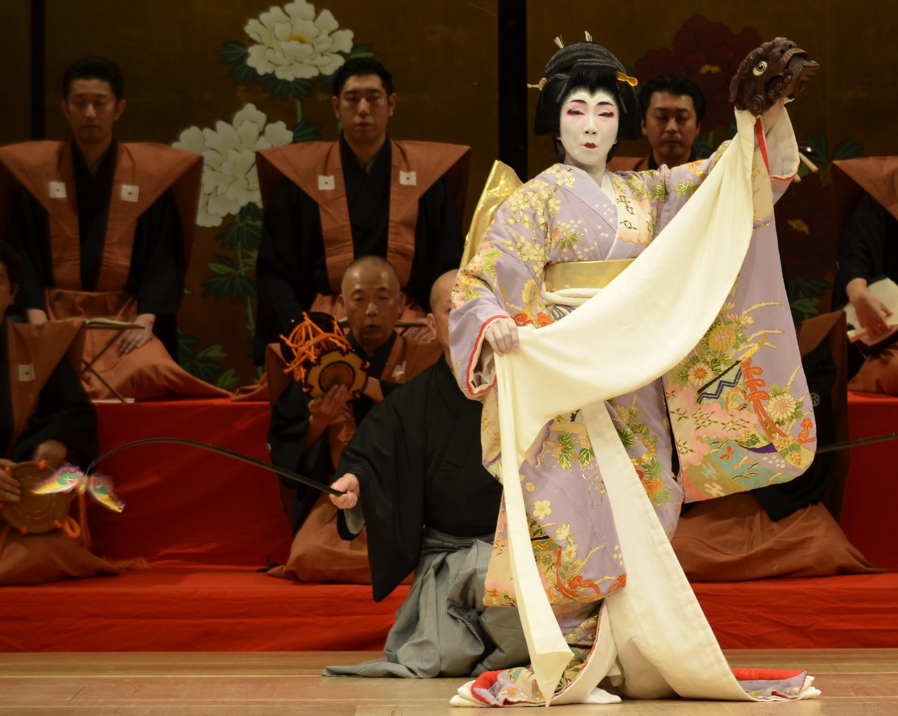 日本舞踊の紹介