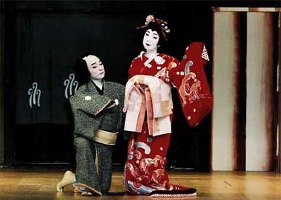 常磐津「京人形」の舞台写真1