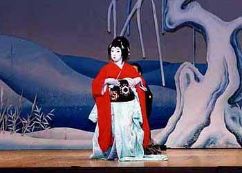 鷺娘舞台写真1